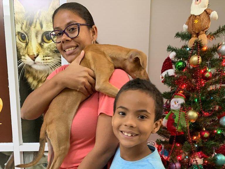 Puppy adopted from Centro de Control de Animales-Municipio de Carolina