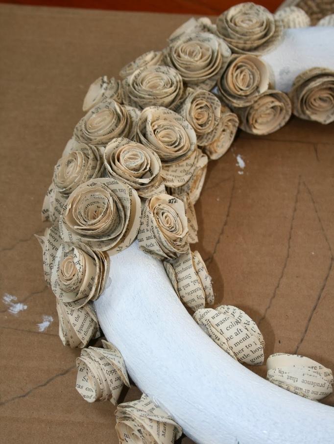 Booklovers Wreath
