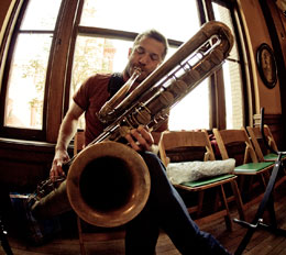 Colin Stetson + Tyshawn Sorey with Sarah Neufeld: THU, APR 05, 7:30 PM
