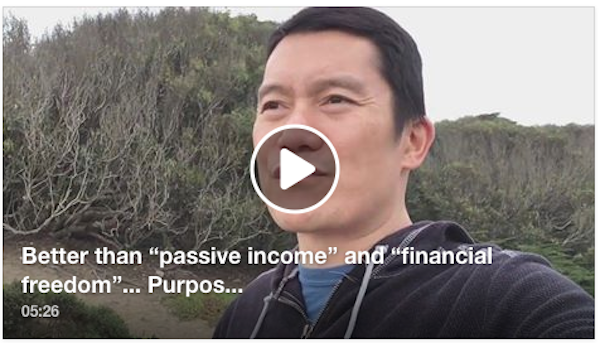 "Better than ""passive income"" and ""financial freedom"""