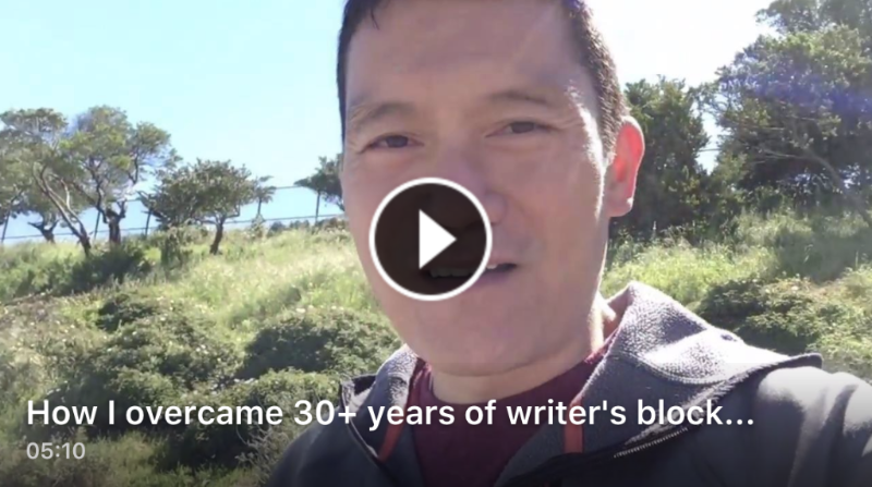 How I overcame 30 years of writer's block
