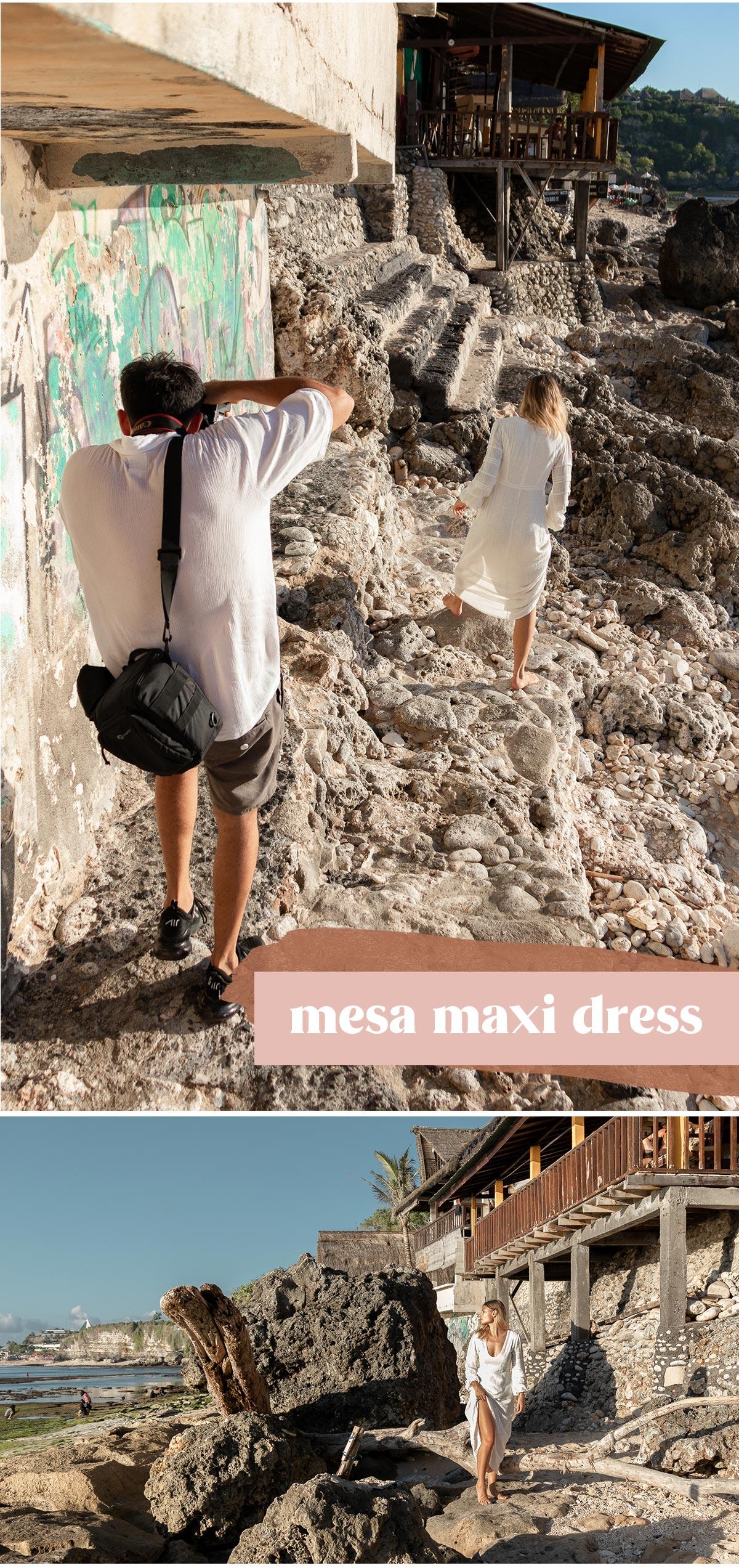 MESA MAXI DRESS - IVORY
