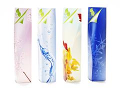 "Green Chic™ ""Four Seasons"" carton series"