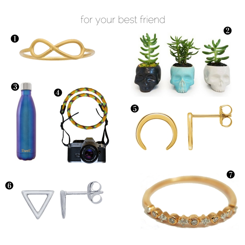 Gift ideas for your best friend, suitable for any occasion or celebration.