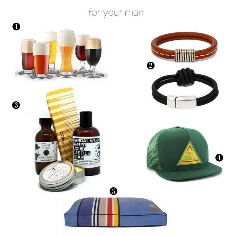 Gift ideas for the man in your life, suitable for any occasion.