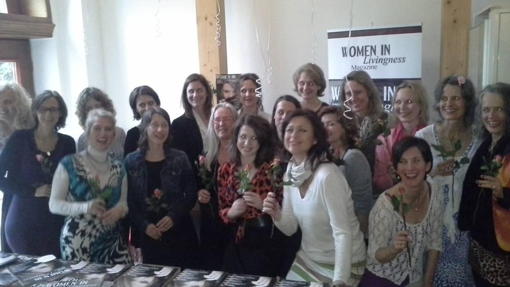 women in livingness