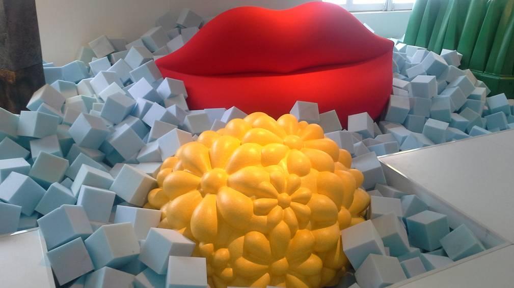 Ausstellung Gufram Pop Art im  10CORSOCOMO