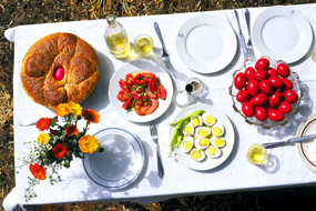 On Easter Sunday a gastronomic marathon takes place