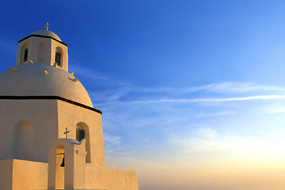 Traditional wedding in the Cyclades: A joy to share.