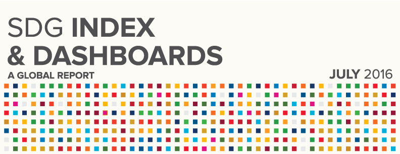 Presenting the SDG Index and Dashboards – Global Report