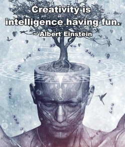 Creativity = Intelligence Having Fun