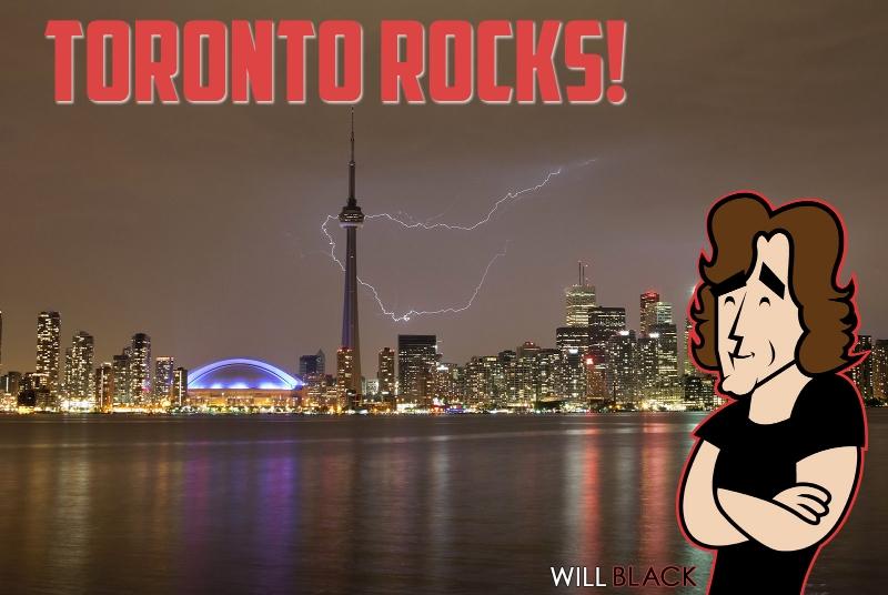 PIC - Toronto Rocks!