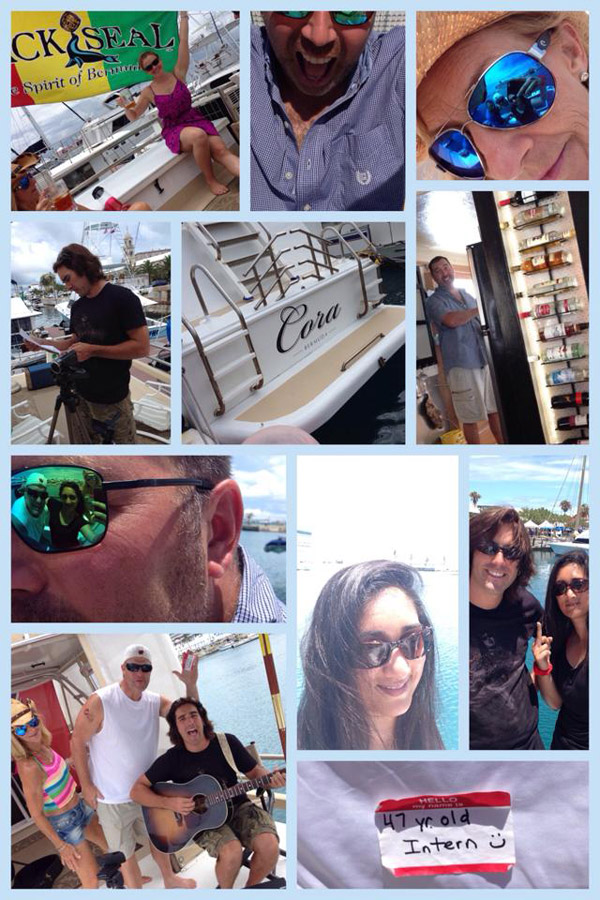 PIC MONTAGE - Boat Day!