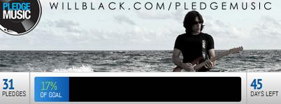 WillBlack.com/pledgemusic CURRENT UPDATE
