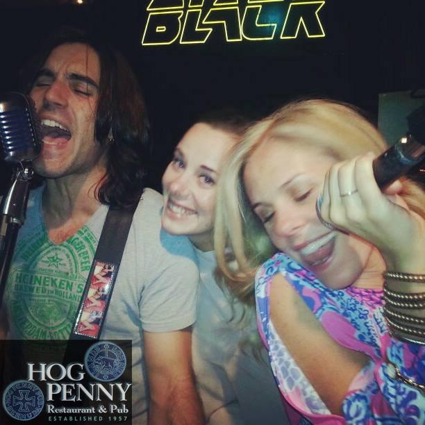 WIll Black live at Hog Penny Pub in Hamilton, Bermuda April 2014.