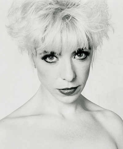 Photo of Julee Cruise by David Lynch