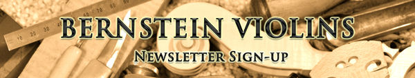 Bernstein Violins Newsletter Sign-up