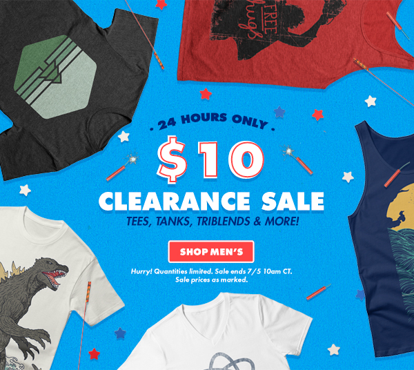 $10 Clearance sale - shop men's