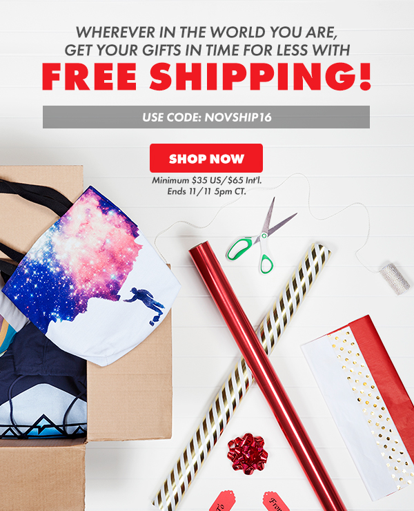Free shipping! Shop now