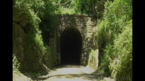 Stewart Tunnel, Badger State trail, Wisconsin!