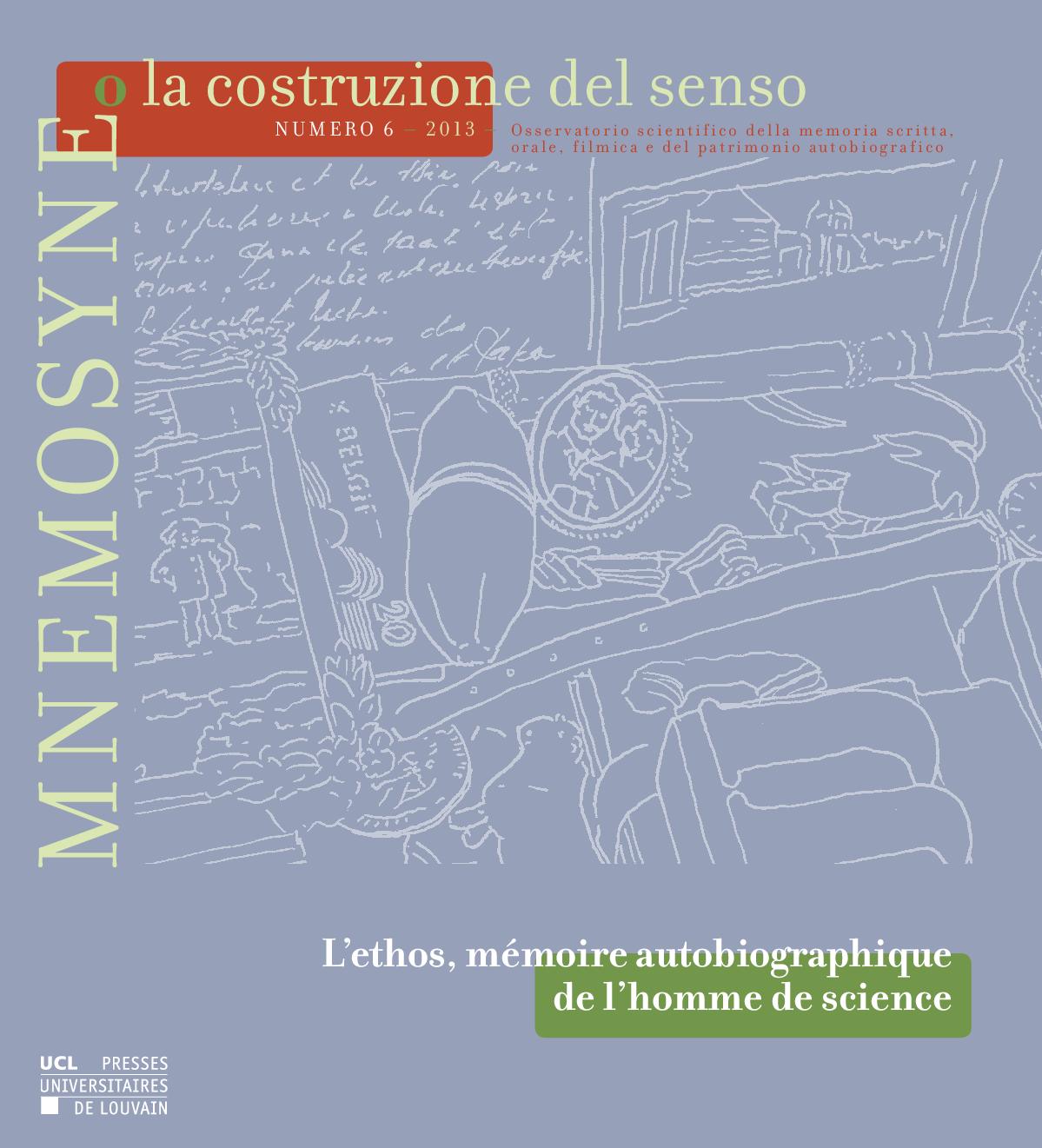 Mnemosyne o la costruzione del senso, PUL, Université catholique de Louvain