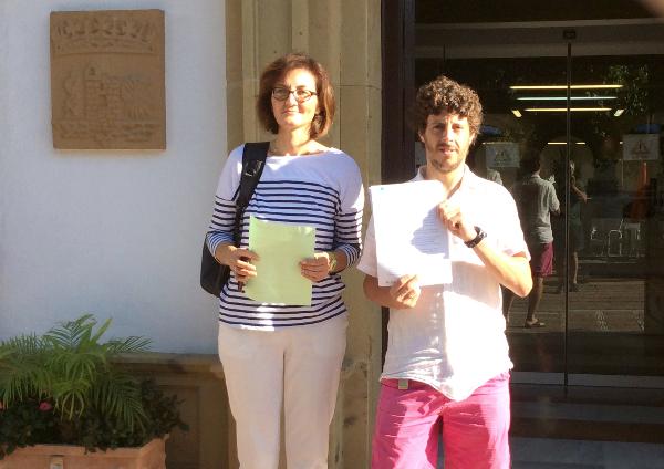 """Victoria Mendiola y Jose Carlos Núñez """"Kata"""""""