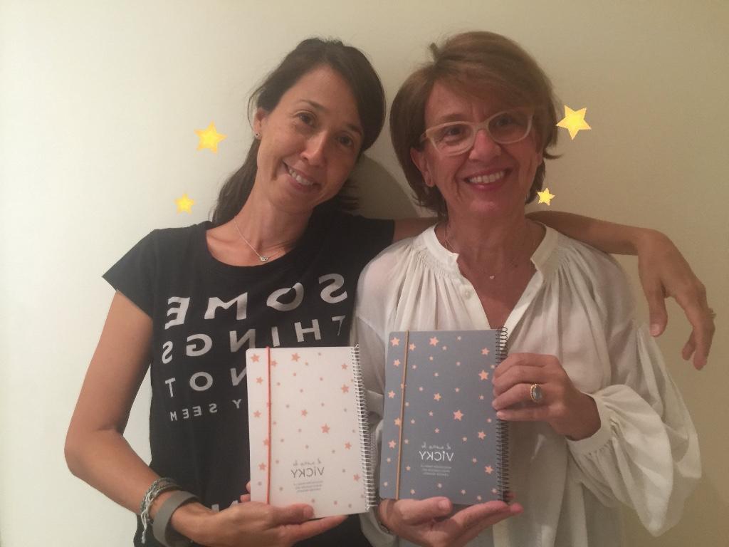 Cuadernos susiko para El Sueño de Vicky