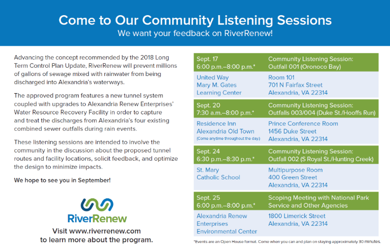 RiverRenew Listening Sessions