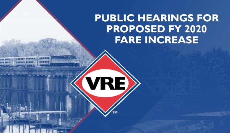 VRE Public Hearings