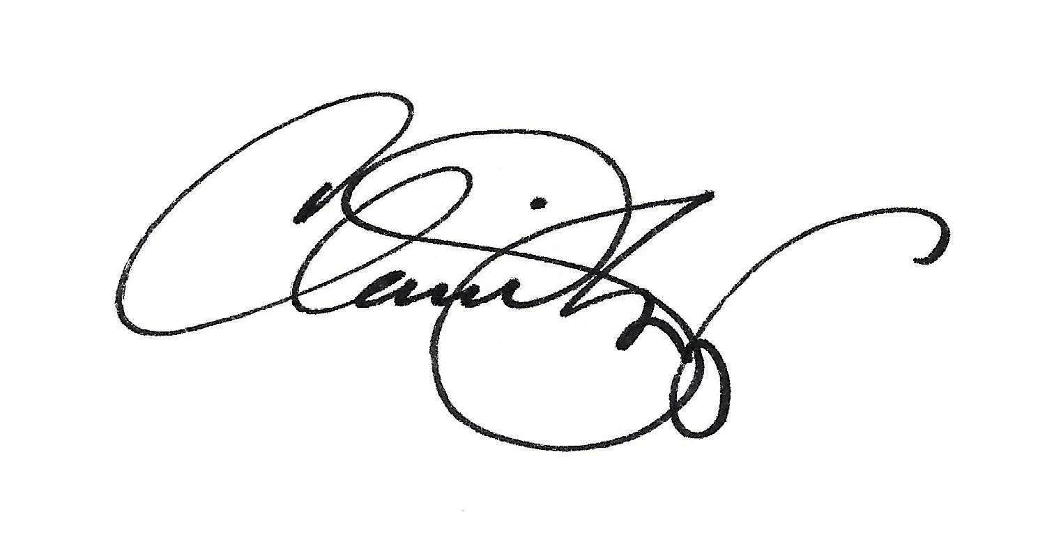 Claudia Berg signature