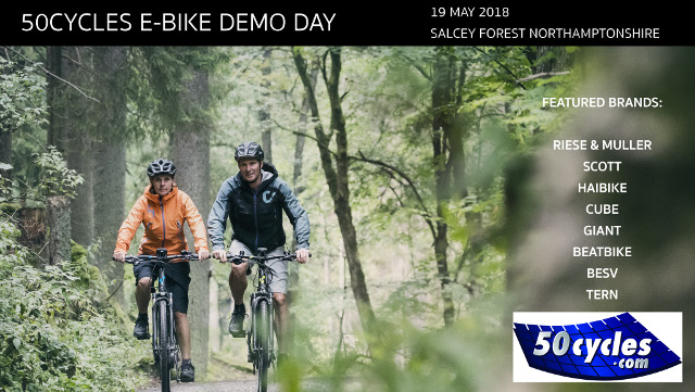 50cycles Demo Day 19th May Salcey Forest