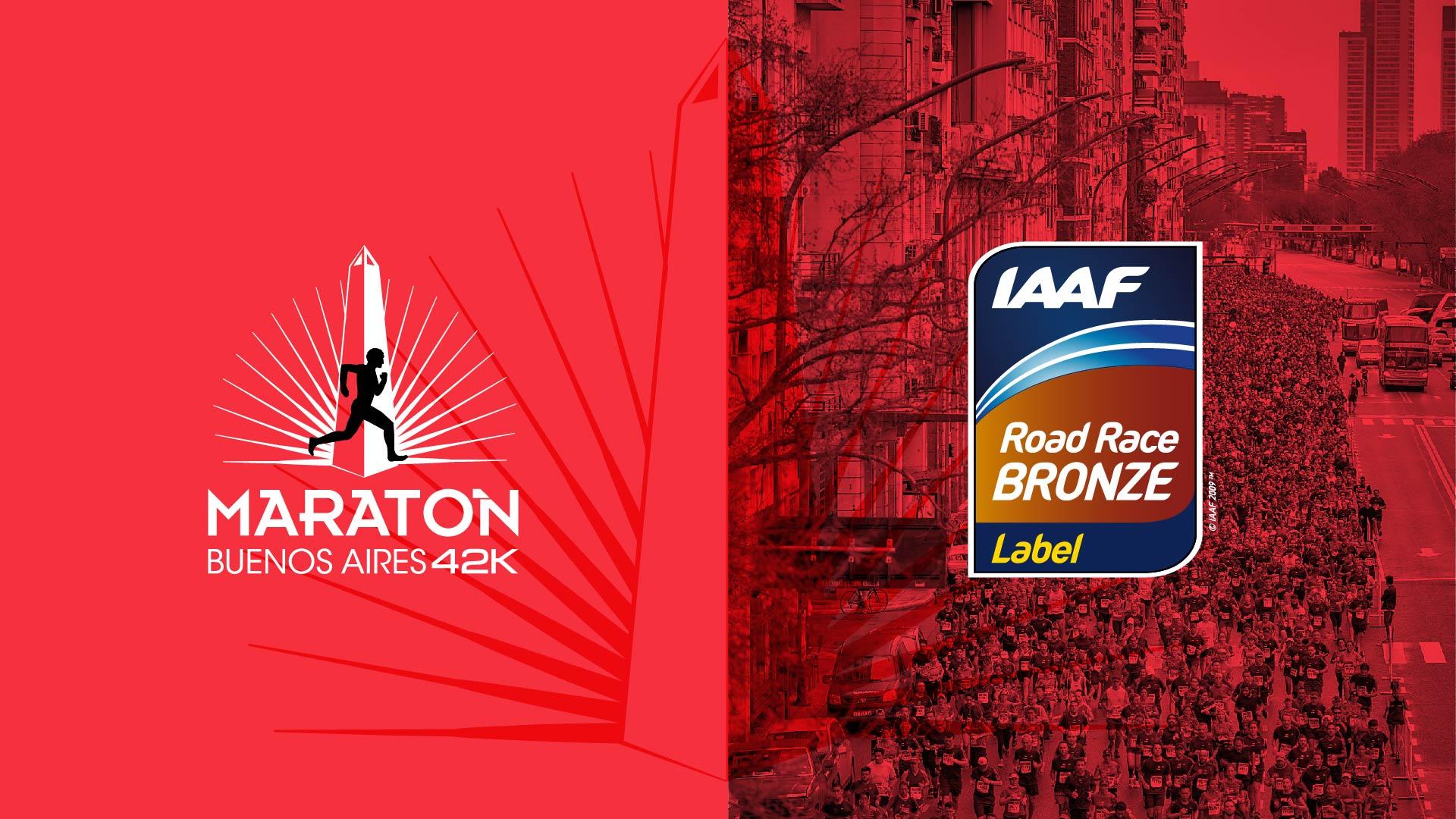 La IAAF distingue al Maratón de Buenos Aires 3