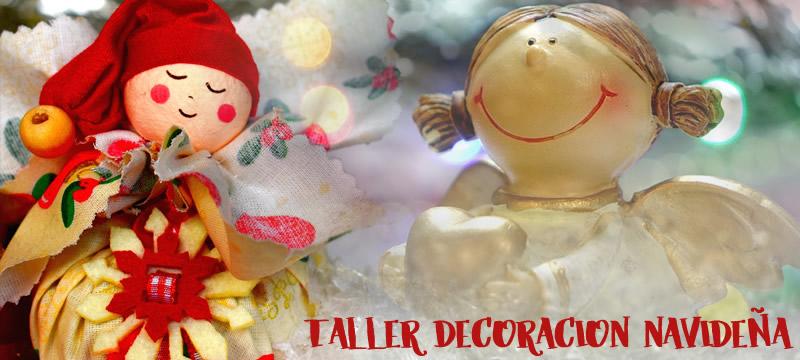 Taller decoración navideña madres
