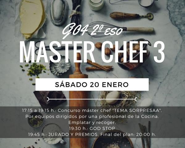 Master Chef 2ºESO