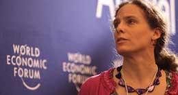 Susan Lea at World Economic Forum