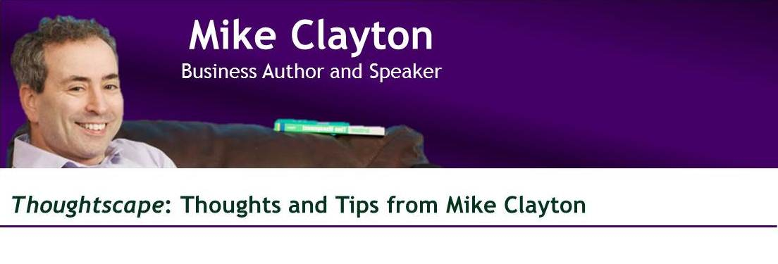 Mike Clayton, Business Speaker and Author