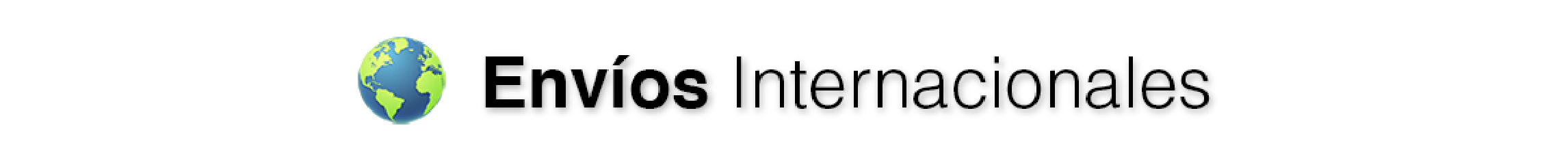 Envíos Internacionales
