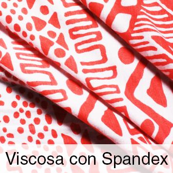 Viscosa con Spandex