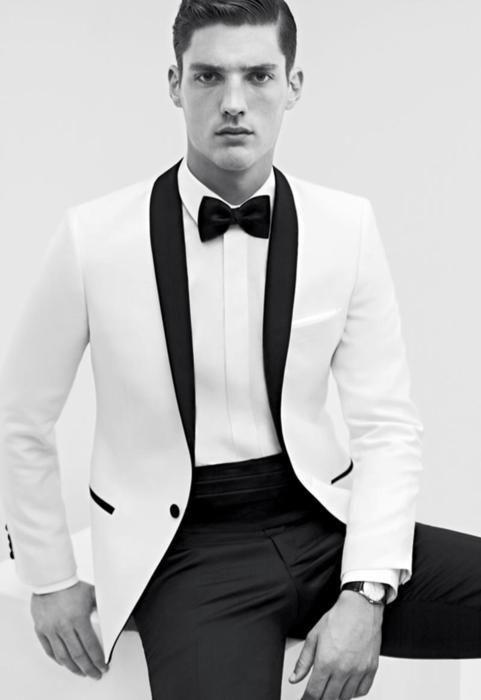 Formal White Tux