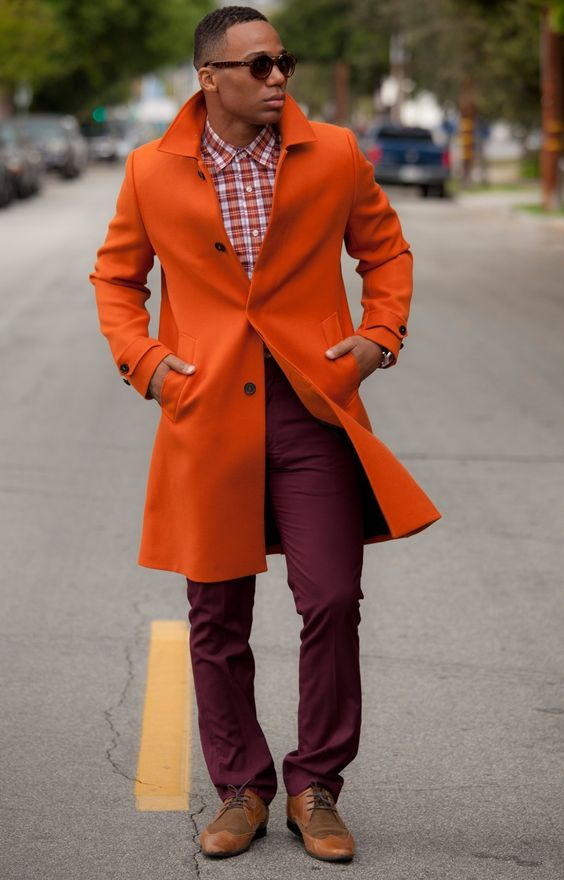 Awesome Orange Coat