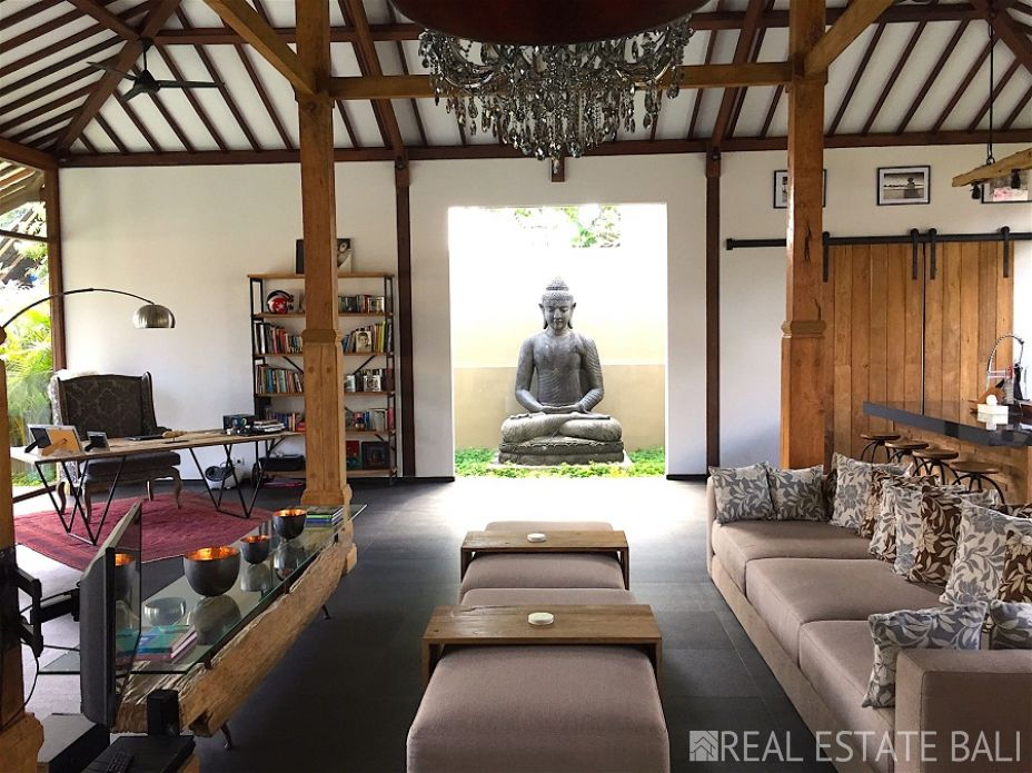 Truly a one off property!, 100+ year joglo villa for sale in Canggu