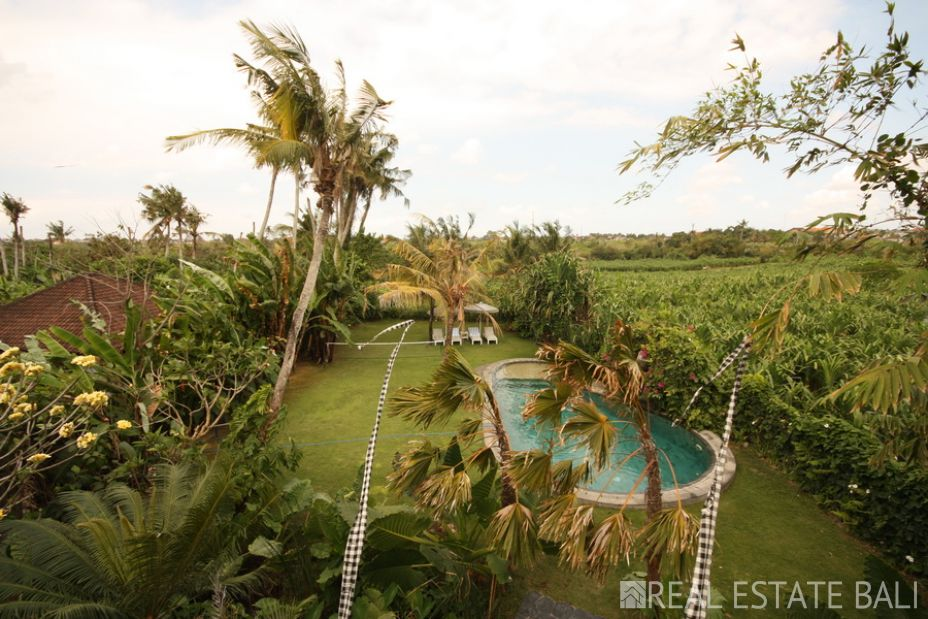 Award winning luxury villa for sale in Ubud