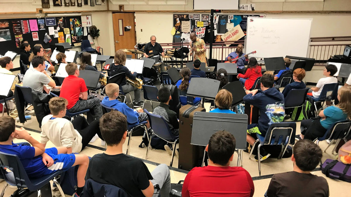 Kennedy Center musicians perform for GM and MEH students