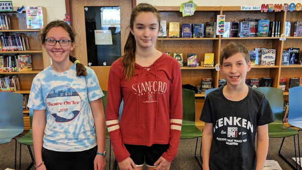 Top three in Geography Bee