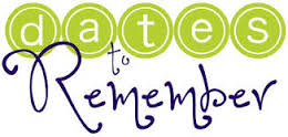 Dates to Remember Image