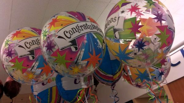 Balloons for the nominees