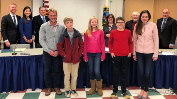 Students recognized for their essays