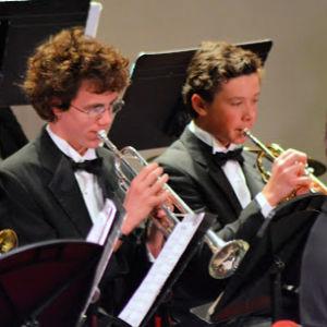 HS trumpet section