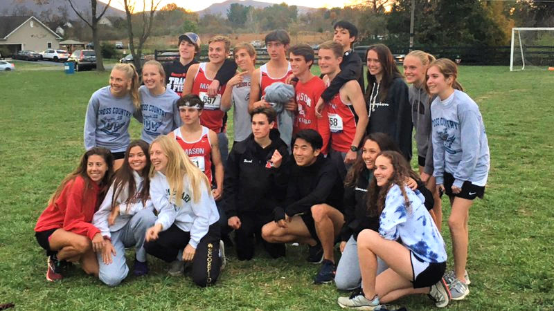 XC Teams at Region Meet after qualifying for States