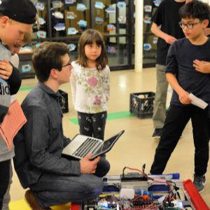 GM robotics demonstration